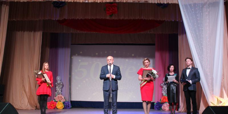 Поздравительное слово председателя законодательного собрания РК Шандаловича Э.В.